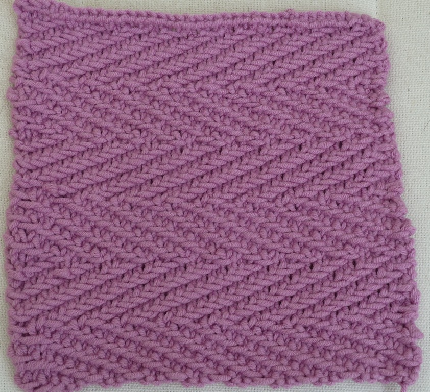 Knitting Herringbone Stitch In The Round : Squares Minniemoll knits and crafts