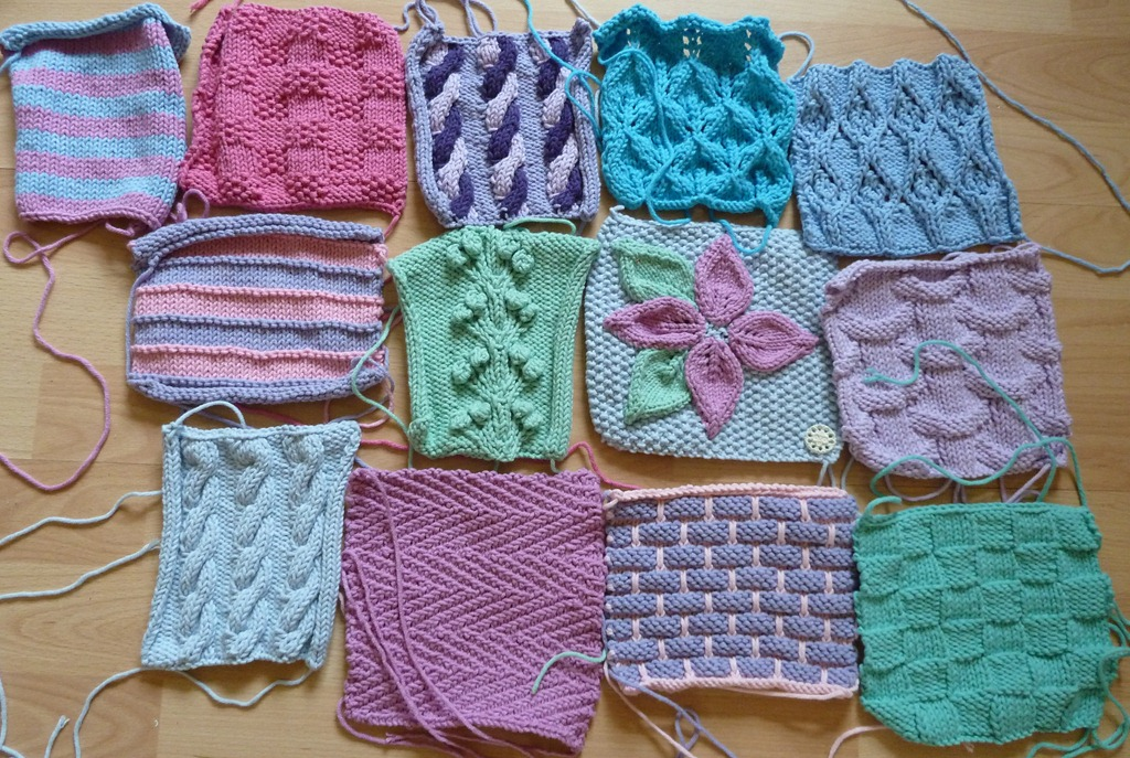 Knitting Patterns For Squares : Squares Minniemoll knits and crafts