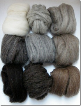 British breeds fibre