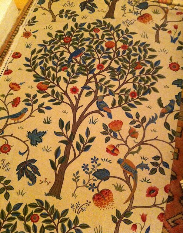 william morris machine embroidery designs